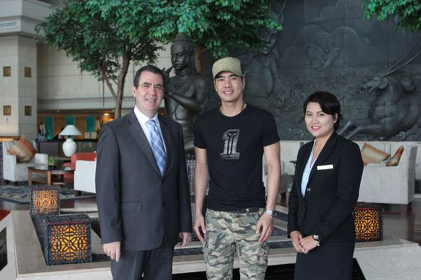 Royal Cliff Welcomes Thai Actor, Mr. Rattapong Tanapat